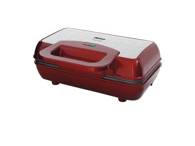 Máquina de Waffle Philco Maker Retrô PWM01V Vermelha 700W - 2