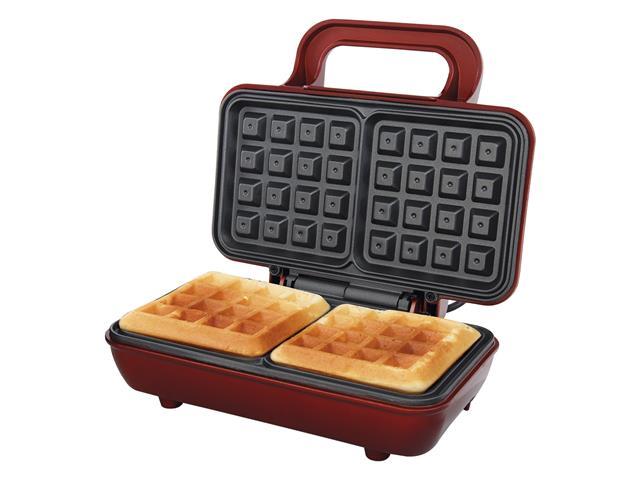 Máquina de Waffle Philco Maker Retrô PWM01V Vermelha 700W - 1