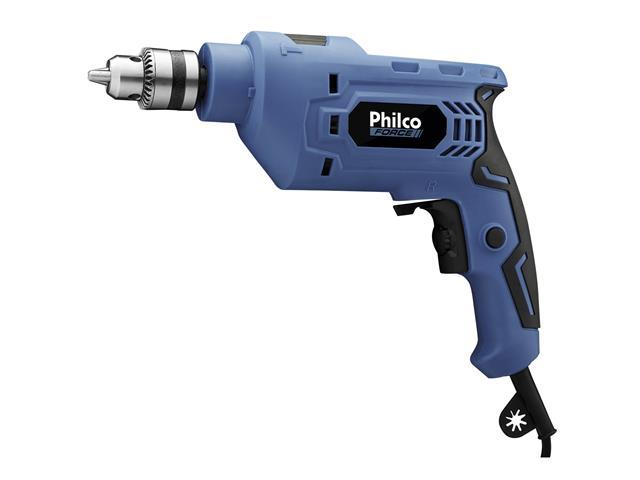Furadeira de Impacto Philco Force 3/8 PFU01 Azul 650W