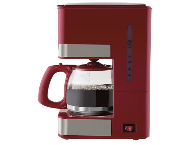 Cafeteira Elétrica Philco PH16 Vermelha e Inox 15 Xícaras 550W 110V - 1