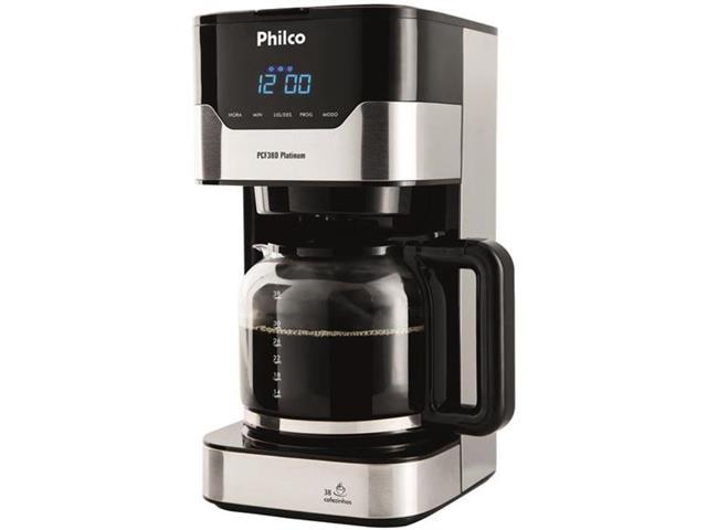 Cafeteira Elétrica Philco PCFD38 Platinum 38 Xícaras 800W 110V