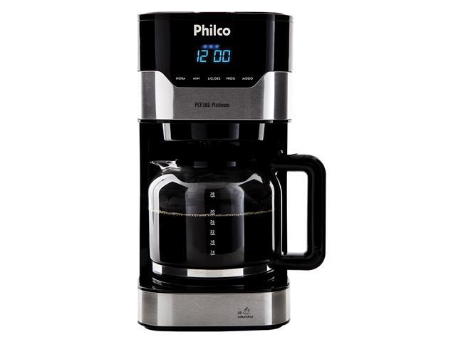 Cafeteira Elétrica Philco PCFD38 Platinum 38 Xícaras 800W 110V - 1