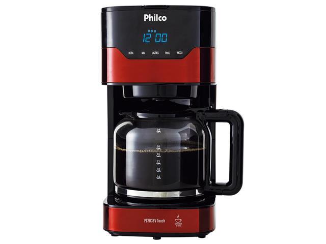 Cafeteira Elétrica Philco PCFD38V Painel Touch 38 Xícaras 800W 110V - 3