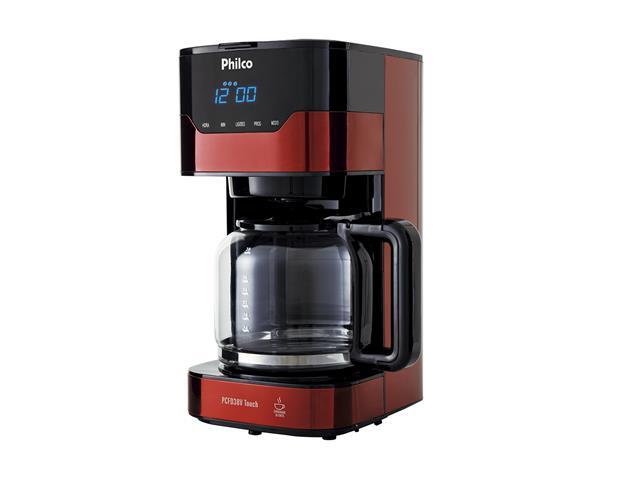 Cafeteira Elétrica Philco PCFD38V Painel Touch 38 Xícaras 800W 110V