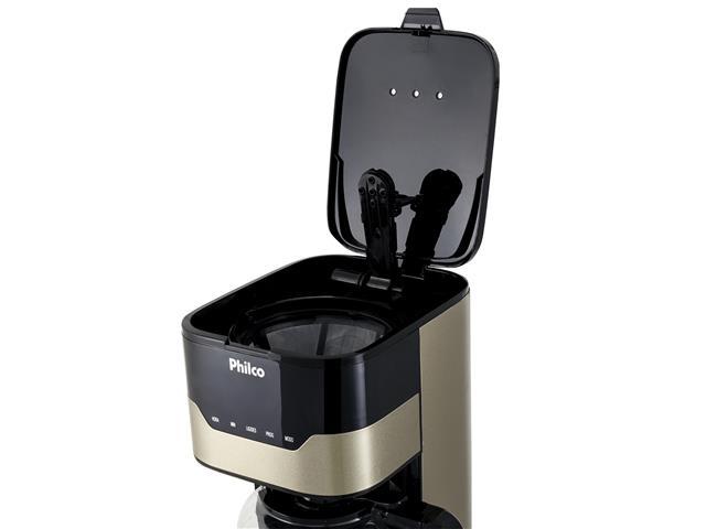 Cafeteira Elétrica Philco PCFD38CH Touch Bronze 38 Xícaras 800W 110V - 4