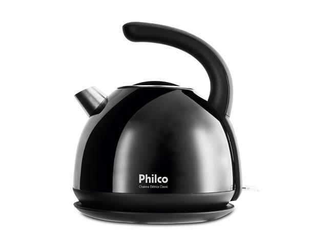 Chaleira Elétrica Philco Classic PHC20P Preta 1,7 Litros 220V