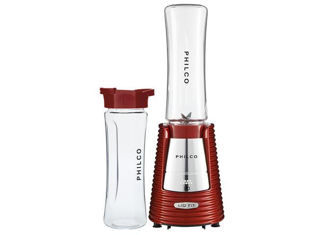 Liquidificador Philco Liq Fit Retrô com 2 Squeezes 600ml 300W