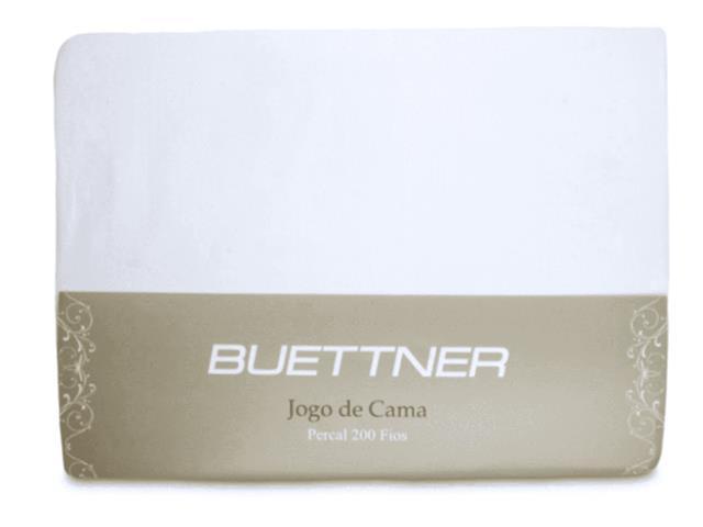 Jogo de Cama Casal Buettner Reffinata Color Branco 4 Peças - 2