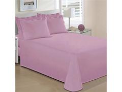 Jogo de Cama Casal Buettner Reffinata Color Rosa Orquídea 4 Peças