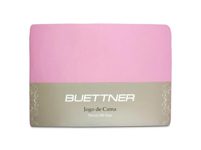 Jogo de Cama Queen Buettner Reffinata Color Rosa Orquídea 4 Peças - 2