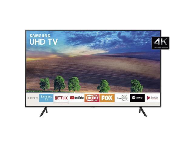 "Smart TV LED 50"" Samsung Ultra HD 4K HDR c/Conv.TV Digital 3 HDMI 2USB"