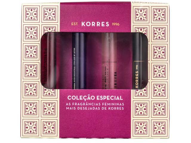 Kit de Mini Fragrâncias Femininas Korres mais Desejadas - 2