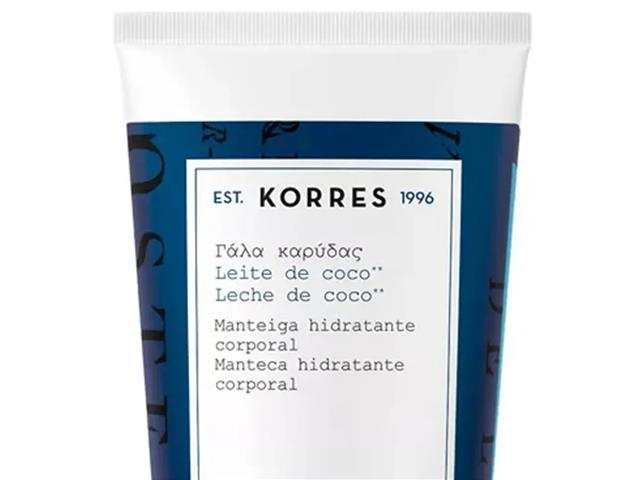 Manteiga Hidratante Corporal Korres Leite de Coco 125g - 1