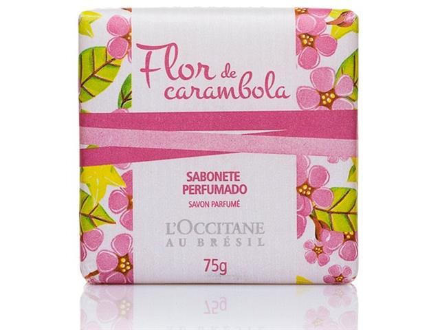 Sabonete Perfumado Flor de Carambola L'Occitane au Brésil 75g