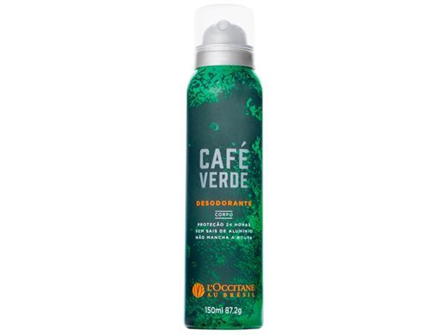 Desodorante Café Verde L'Occitane au Brésil 150ml