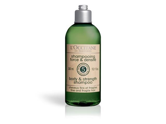 Shampoo Força e Corpo Aromacologia L'Occitane en Provence 300ml