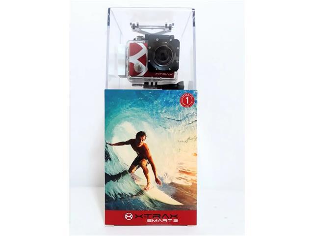 """Câmera de Ação Xtrax Smart2 4K Ultra HD 16.0MP Tela 2"""" - 5"""