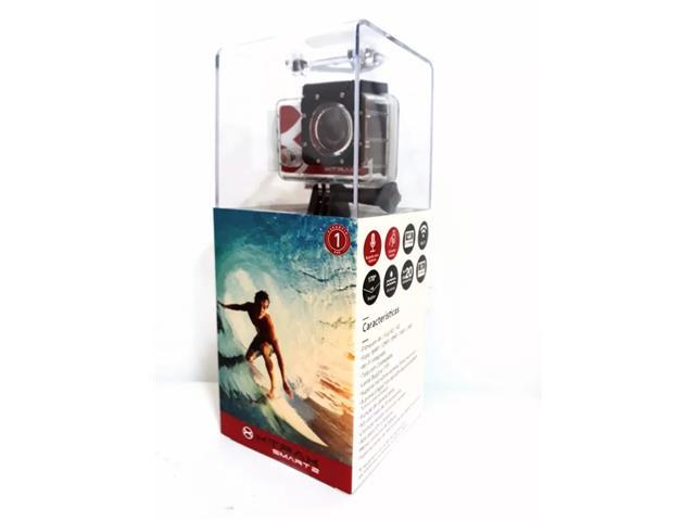 """Câmera de Ação Xtrax Smart2 4K Ultra HD 16.0MP Tela 2"""" - 6"""