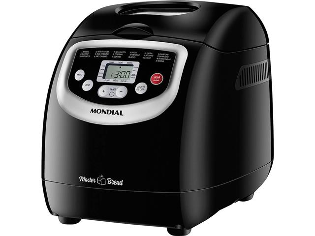 Panificadora Automática Master Bread Mondial Digital 19 Programas 700W