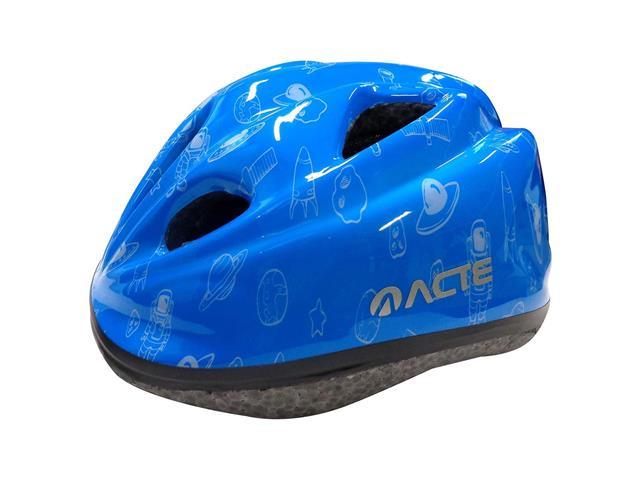 Capacete para Ciclismo Infantil Acte A50-AZ Kids Azul