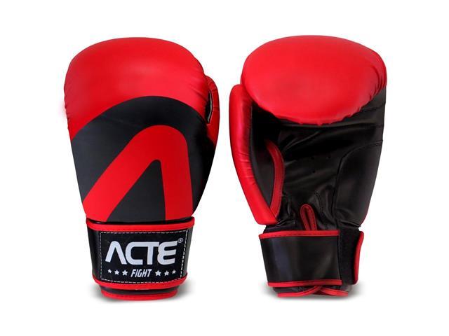 Luvas de Boxe Acte P2-10 Tamanho 10 Vermelho - 2