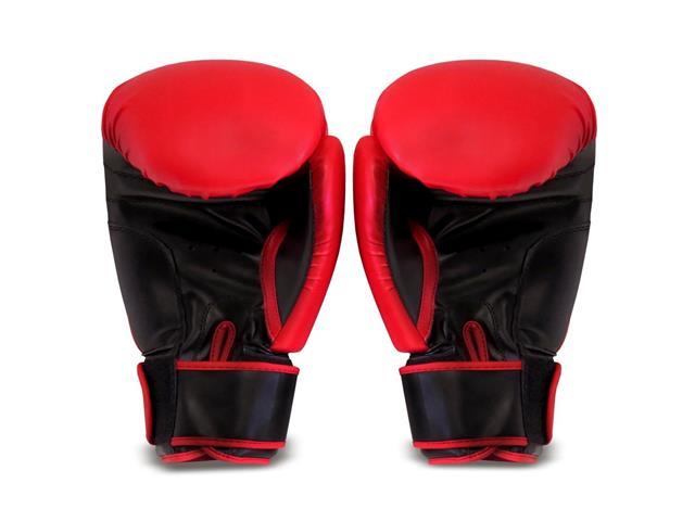 Luvas de Boxe Acte P2-10 Tamanho 10 Vermelho - 1