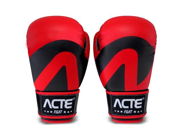 Luvas de Boxe Acte P2-10 Tamanho 10 Vermelho
