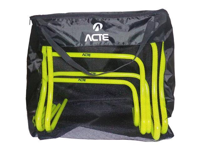 Obstáculos Acte T75 para Treinamento de Agilidade 5 Unidades - 3