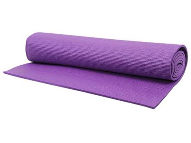 Tapete para Yoga Acte T10 Texturizado Mat Roxo