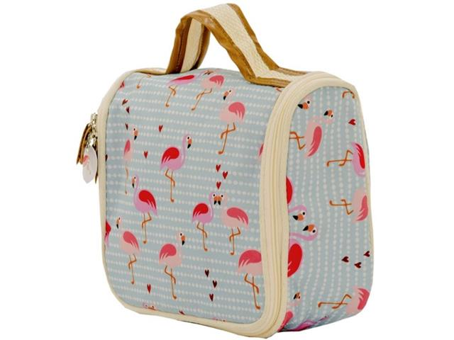 Necessaire Ganchinho Mood Flamingo