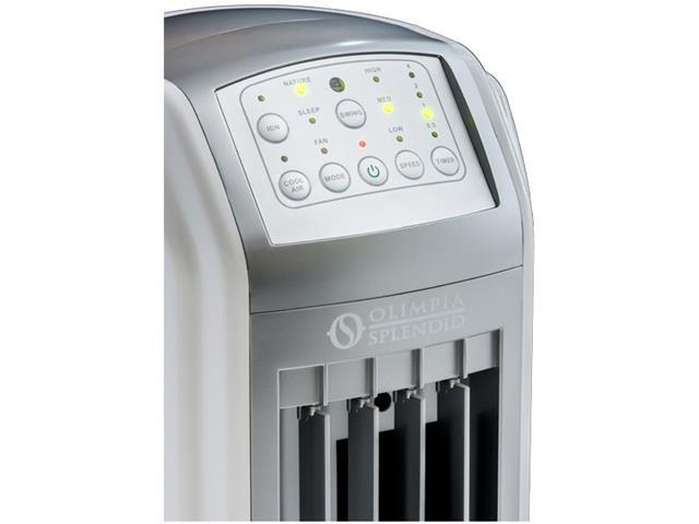 Climatizador de ar Peler 4 Olimpia Splendid Frio 4 Litros  - 1