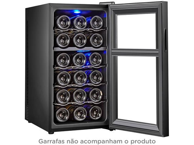 Adega Climatizada Olimpia Splendid 18 Garrafas Dual Zone Bivolt - 1