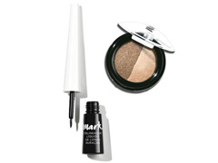 Combo Avon Mark. Duo de Sombras para Olhos e Delineador Líquido 3ml