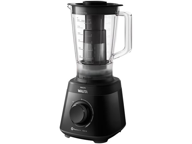 Liquidificador Daily Turbo 700W 5 Vel 2L Philips RI2113 Preto - 1