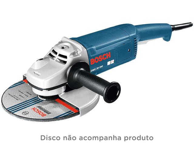 "Esmerilhadeira Angular Bosch 7"" - 1"