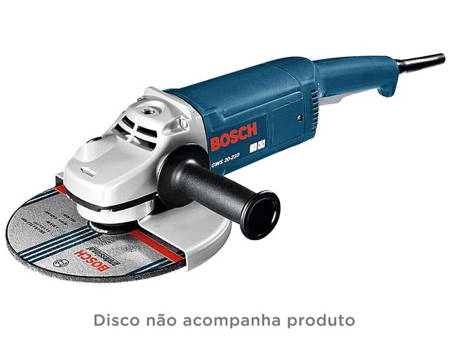 "Esmerilhadeira Angular Bosch 9"" - 1"