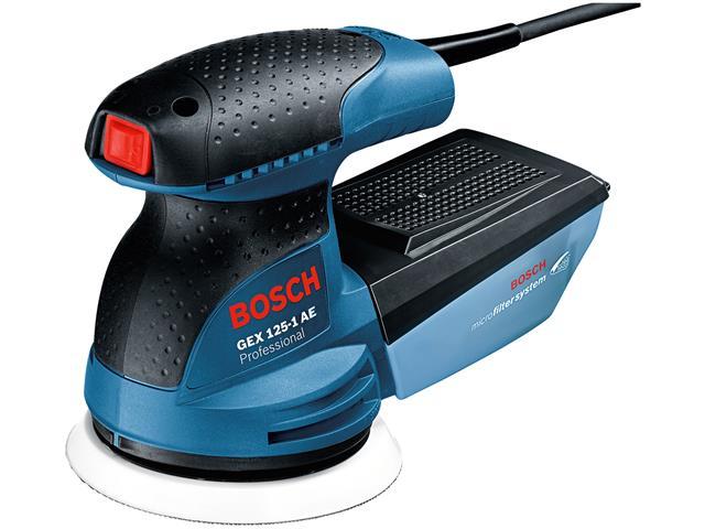Lixadeira Excêntrica Bosch GEX 125-1 AE 250W