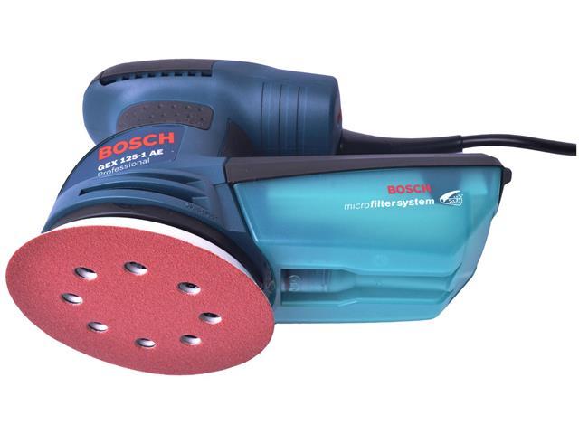 Lixadeira Excêntrica Bosch GEX 125-1 AE 250W - 2