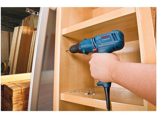 """Parafusadeira e Furadeira Elétrica Bosch GSR 7-14E 3/8"""" 400W - 3"""