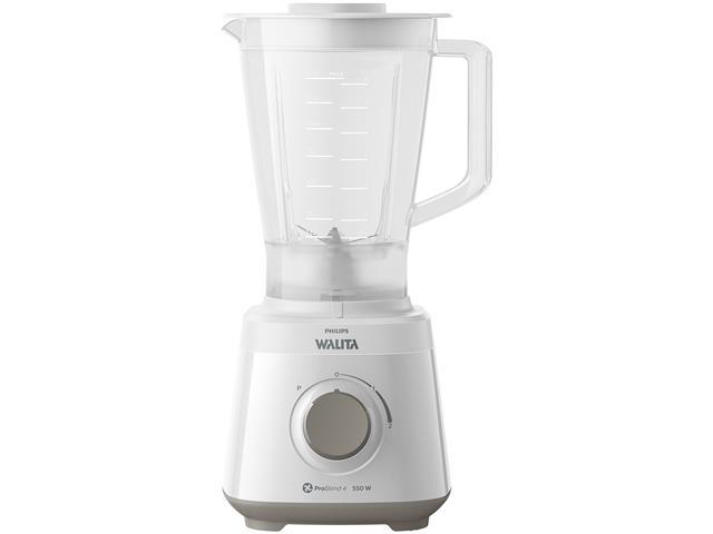 Liquidificador Daily 550W 2 Vel 2L Philips Walita RI2110 Branco 110V
