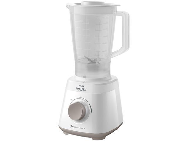 Liquidificador Daily 550W 2 Vel 2L Philips Walita RI2110 Branco 110V - 1