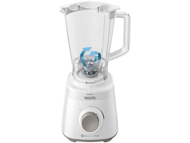Liquidificador Daily 550W 2 Vel 2L Philips Walita RI2110 Branco 110V - 2