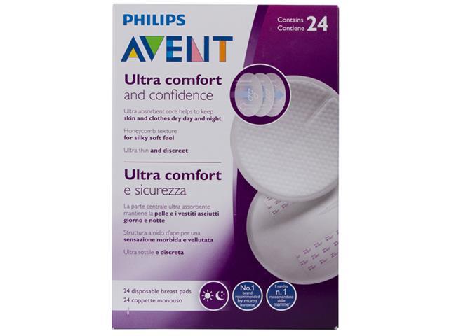 Absorvente Descartável para Seios Philips Avent SCF254/24 Branco - 1
