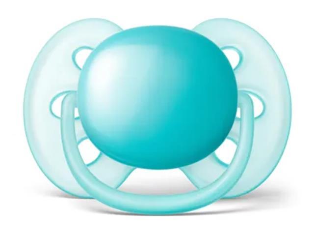 Chupeta Ultra Soft 6 a 18 meses Philips Avent SCF414/12 Azul
