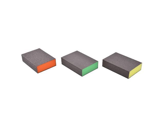 Kit 3 Esponjas Bosch Best Flat&Edge (M/F/SF) - 1