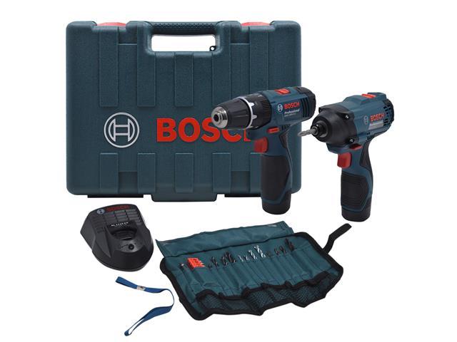 Kit Bosch Furadeira GSB 1200-2-LI e Parafusadeira GDR120-LI Bivolt