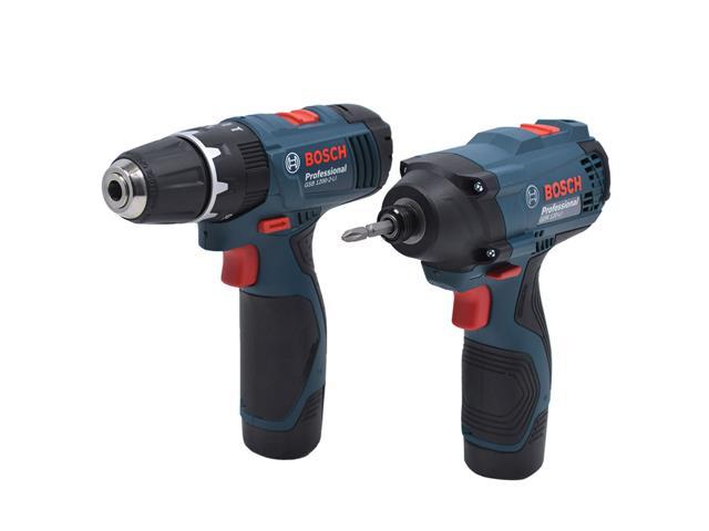 Kit Bosch Furadeira GSB 1200-2-LI e Parafusadeira GDR120-LI Bivolt - 1