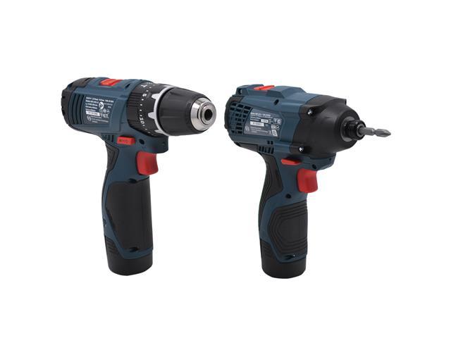 Kit Bosch Furadeira GSB 1200-2-LI e Parafusadeira GDR120-LI Bivolt - 2