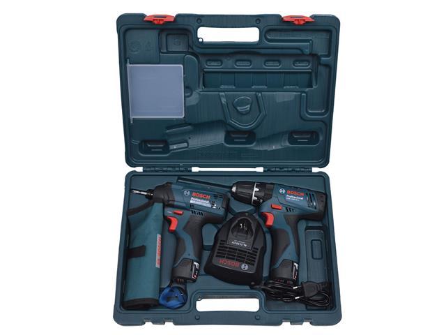 Kit Bosch Furadeira GSB 1200-2-LI e Parafusadeira GDR120-LI Bivolt - 4