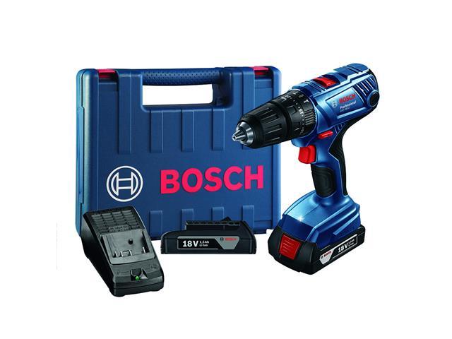 Parafusadeira e Furadeira Bosch GSB180 LI à Bateria 18V